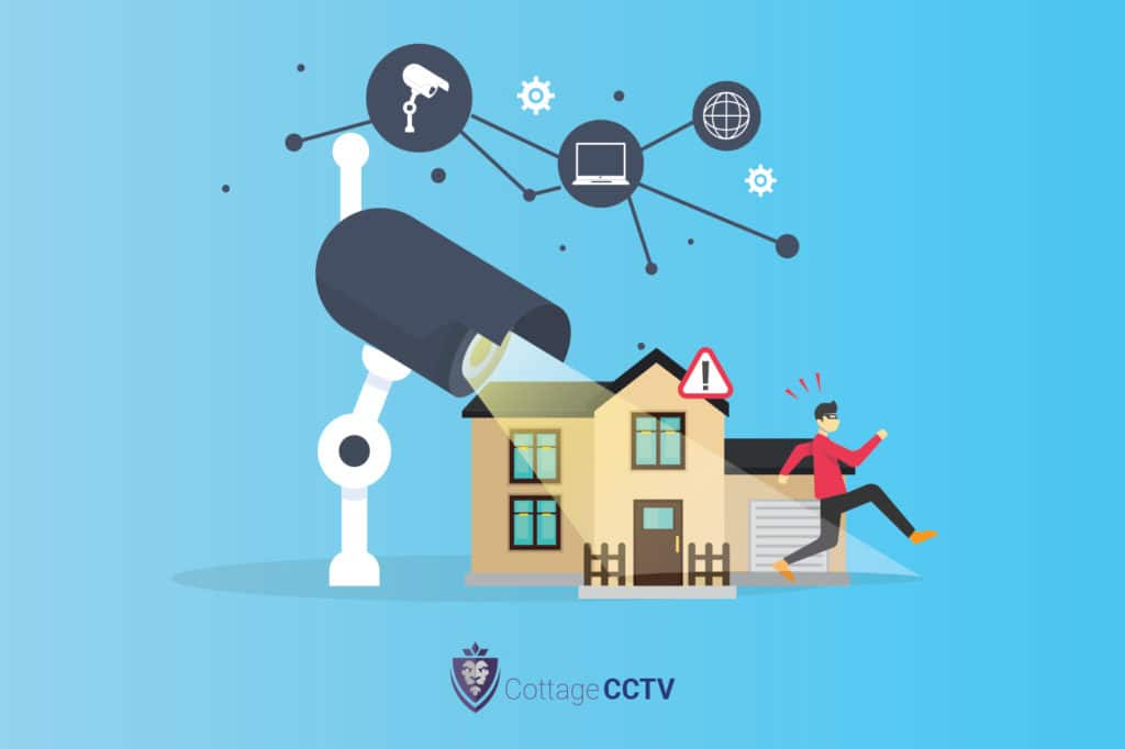 Wireless home security networks from Cottage CCTV.